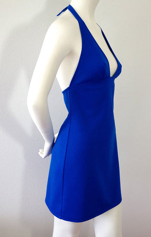 Azzurro Halter Dress