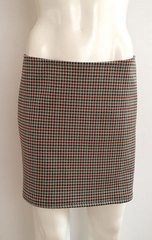 Baby Houndstooth  Pencil Skirt