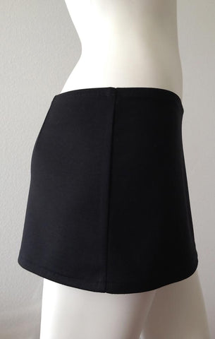 Mini Skirt Basic Black