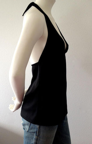 Basic Black Halter Top