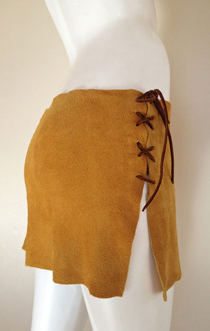 Deer Suede Skirt