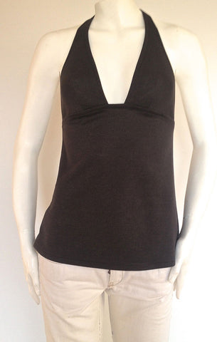 Basic Coal Halter Top