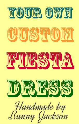 Custom Fiesta Dress