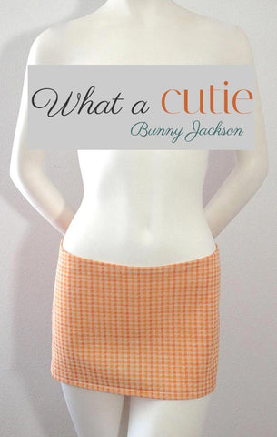 Tangerine Gingham Mini