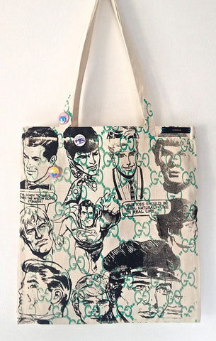 Wallace Tote- Heroes