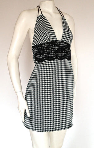 Audrey Houndstooth Dress