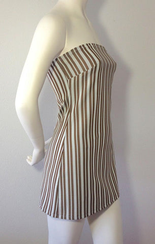 Java Stripe Mini Dress