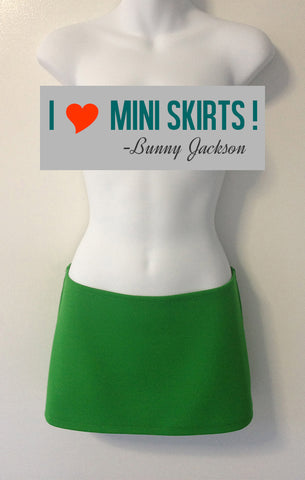 Mini Skirt in Lucky