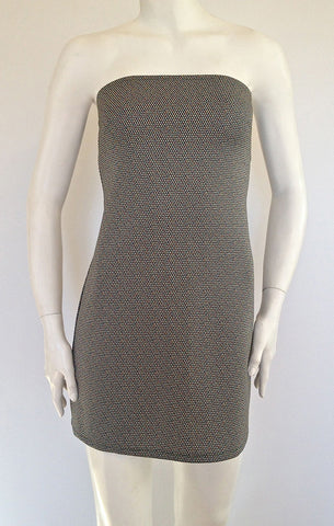 Micro Dot Tube Dress