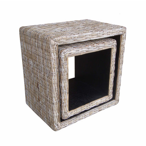 Padma's Plantation Box Nesting Tables - Kubu