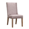 Padma's Plantation KEY WEST DINING CHAIR - OATMEAL LINEN - SET OF 2