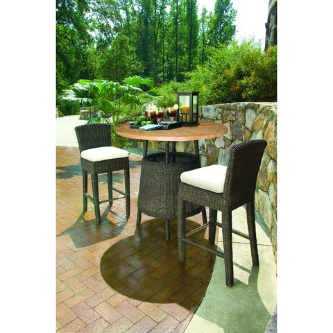 Padma's Plantation Outdoor Bay Harbor Side Bar Stool