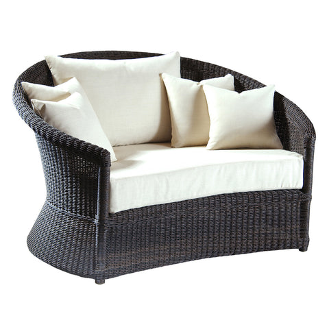 Padma's Plantation Outdoor Haven Loveseat Lounge - revised