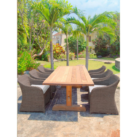 Padma's Plantation OUTDOOR PORTO FINO DINING TABLE