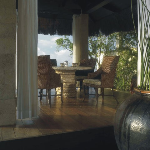 Padma's Plantation Palm Beach Outdoor Dining Chair