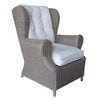 Padma's Plantation Outdoor Kubu Wing Chair