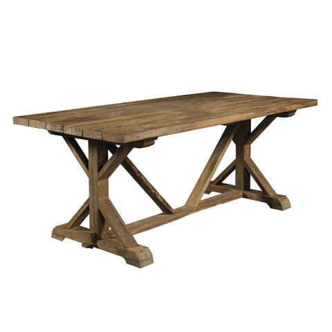Padma's Plantation Xena Reclaimed Teak Dining Table - 79