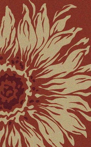 Sanibel Outdoor Rug - Orange Ochre / Creme Brulee (More Sizes Available)