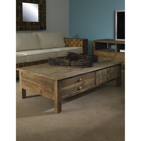 Padma's Plantation Salvaged Wood Coffee Table