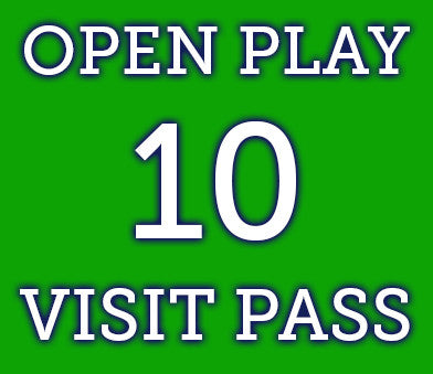 Open Play- 10 Visit Pass