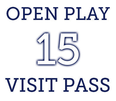 Open Play- 15 Visit Pass