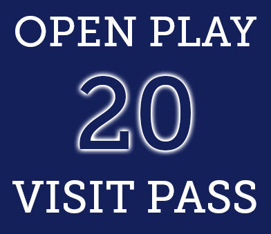 Open Play- 20 Visit Pass
