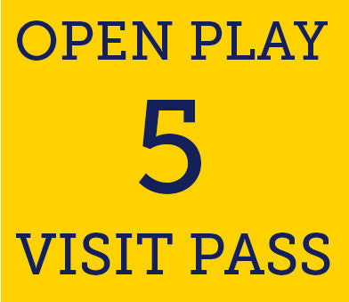 Open Play- 5 Visit Pass