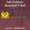 Late Fall - Monday 4:20 Baseball (Ages 5-7)
