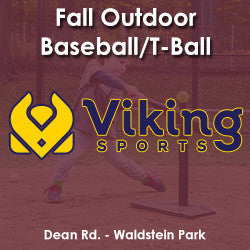 Late Fall - Saturday 2:00 T-Ball (Ages 4 & 5)