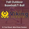 Fall - Thursday 3:25 Baseball (Ages 4-5)
