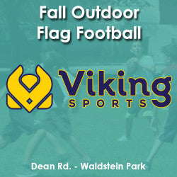 Fall - Wednesday 3:25 Flag Football (Ages 5-7)