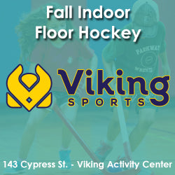 Late Fall - Activity Center - Monday 2:30 Floor Hockey (Ages 4 & 5)