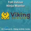 Late Fall - Activity Center - Thursday 4:20 Viking Ninja Warrior (Ages 7 - 10)