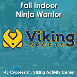 Late Fall - Activity Center - Thursday 3:25 Viking Ninja Warrior (Ages 5 - 7)