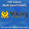 Late Fall - Activity Center - Thursday 2:00 Multi-Sports (Ages 2 & Young 3)