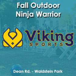 Late Fall - Wednesday 4:20 Viking Ninja Warrior (Ages 8 - 10)