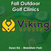 Fall - Saturday 1:00 Golf (Ages 5 - 9)