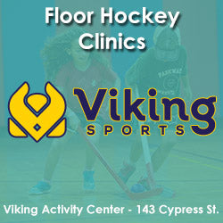 Late Fall - Activity Center - Monday 4:20 Floor Hockey (Ages 6 - 8)
