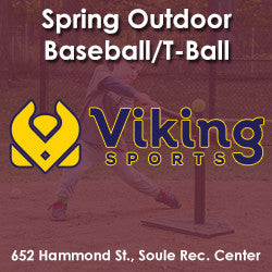 Spring - Sunday 4:00 Baseball/T-Ball (Ages 4 & 5)