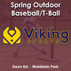 Spring - Monday 4:20 Baseball/T-ball (Ages 5 - 7)