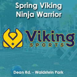 Spring - Wednesday 4:20 Viking Ninja Warrior (Ages 8-10)