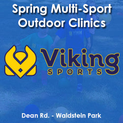 Spring - Saturday 11:00 Multi-Sports (Ages 3 & Young 4)