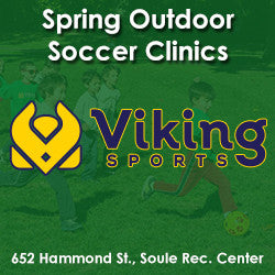 Spring - Sunday 2:00 Soccer (Ages 5 & 6) for two children with sibling discount