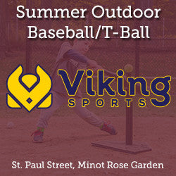 Summer - Saturday 11:00 Baseball/T-Ball (Ages 3 & Young 4)