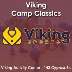 Late Winter - Activity Center - Monday 5:20 Viking Camp Classics (Ages 6 - 8)