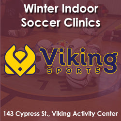 Winter - Activity Center - Monday 2:00 Soccer (Ages 2 & Young 3)