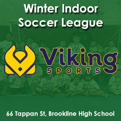 Winter Indoor Soccer League (Co-ed) 3rd - 5th Grade - Mondays - OUTSTANDING BALANCE