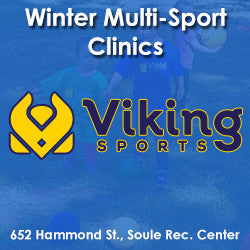 Winter Wednesday 10:00 Multi-Sports (Ages 3 & Young 4)