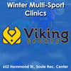 Winter Sunday 8:30 Multi-Sports (Co-ed Tot - Age 2 Only)