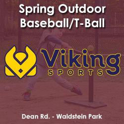Spring - Thursday 3:30 Baseball/T-Ball (Ages 4 & 5)